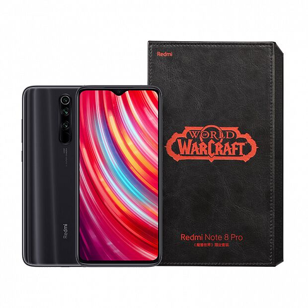 Смартфон Xiaomi Redmi Note 8 Pro Warcraft Edition 128GB/8GB (Black/Черный)