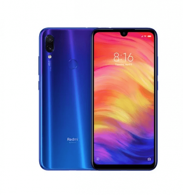 Смартфон Xiaomi Redmi Note 7 64GB/4GB (Blue/Синий)