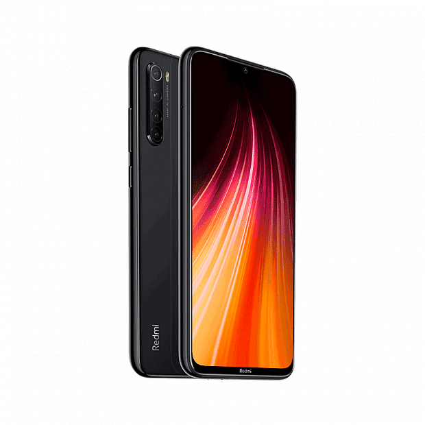 Смартфон Xiaomi Redmi Note 8 64GB/6GB (Black/Черный)